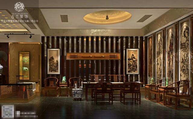 你可以品茗、吟诗,交友,禅文化中凝铸着深沉的茶文化。设计方面也要营造出古典气息的氛围。景观是设计方面的一个重要环节,标志着一个传统酒楼的档次与品位。可以使人文景观,可以借助大自然的力量,可以使静态的,也可以使动态的。