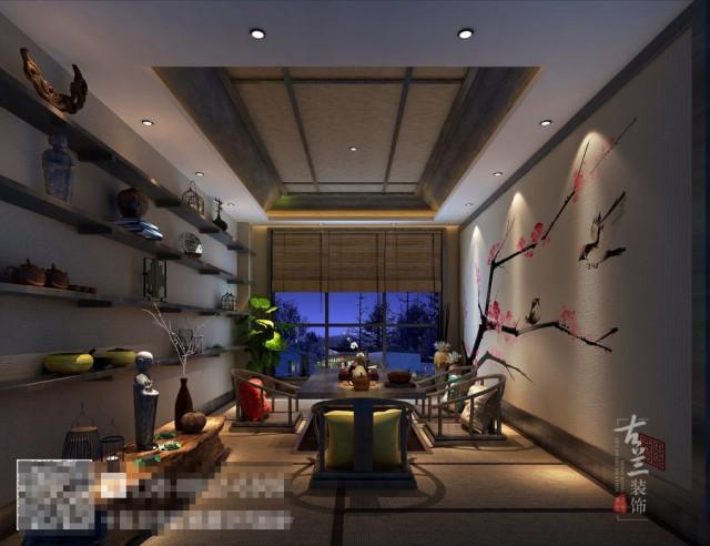 项目地址:科华北路四川大学西门 项目名称:禅心禅茶茶艺馆
