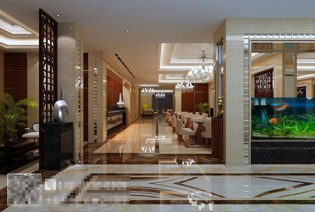 成都酒楼设计公司-刘一手海鲜酒楼装修效果图
