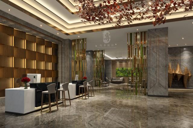 福建酒店设计公司 百和·铂雅城市酒店