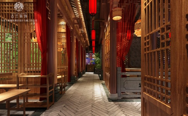 精美的中国风,使人有种穿越回旧时光的感觉。有趣的装饰物品、红色布帘将空间调和得活力十足。诠释了古典的情怀,在这里你不用西装革履,不用正襟危坐。在这里你会有种江湖场景中的恍惚与暧昧。