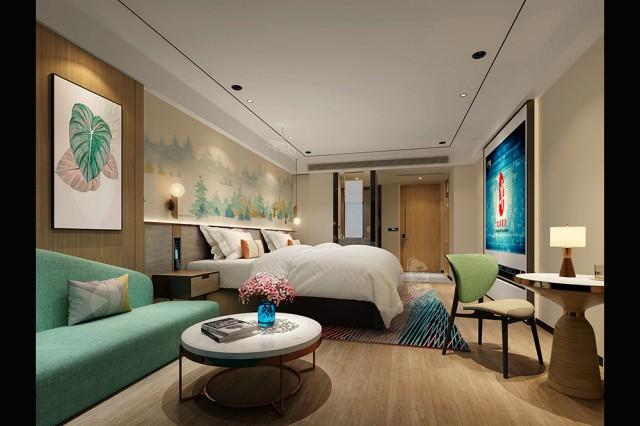 河南酒店设计 品韵轻居酒店
