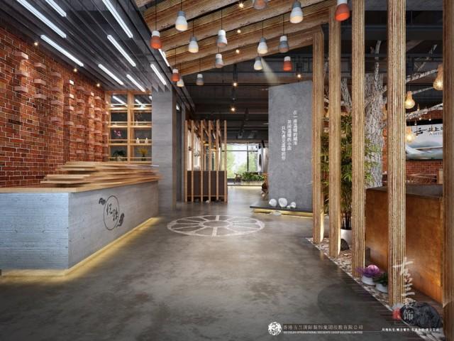 秦皇岛火锅店设计装修公司-南充悦辣火锅店设计图