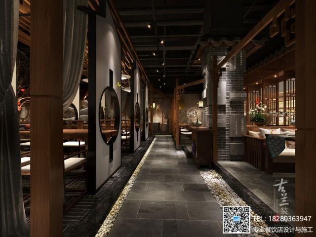 成都中餐厅装修
