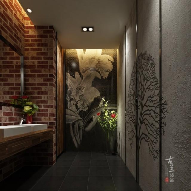 聂三耳火锅店装修效果图-芜湖火锅店设计公司-合肥专业餐厅装修案例