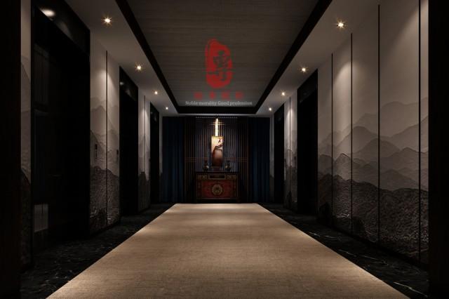 天津星级酒店设计|静庐精品酒店