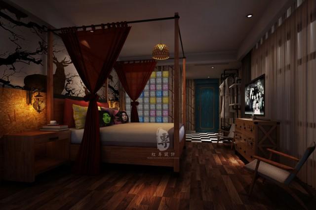 峨眉山酒店设计公司-红专设计 | 遇尚艺术主题酒店
