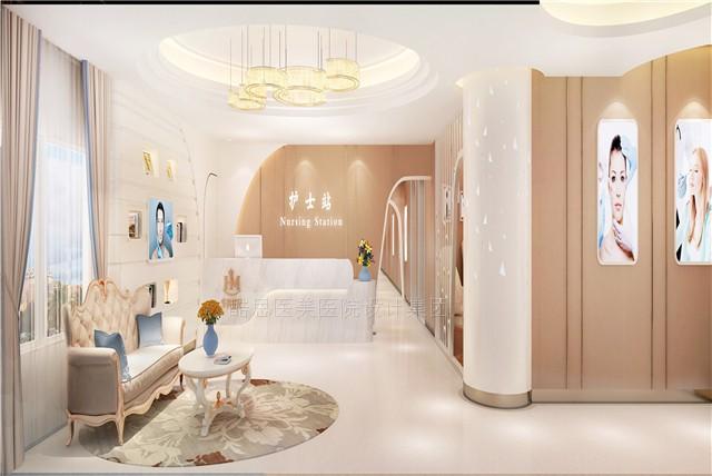 设计理念:良好的整形医院装修设计环境,设计师不光靠平面、空间就能完成的,还考虑了立体、绿化、灯光、色彩、智能设施、家具、标识、艺术品甚至背景音乐等多种因素。整形医院室内设计作为一种艺术形式,是酷思设计师对其表达元素的不同运用和发挥,创造出一个充满艺术魅力的爱美空间,这个空间除了满足人们生活的日常需求,更让每个生活在其中的人无时不刻不与美相伴,与美同行。