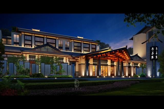 福州酒店设计公司|予与鱼精品度假酒店