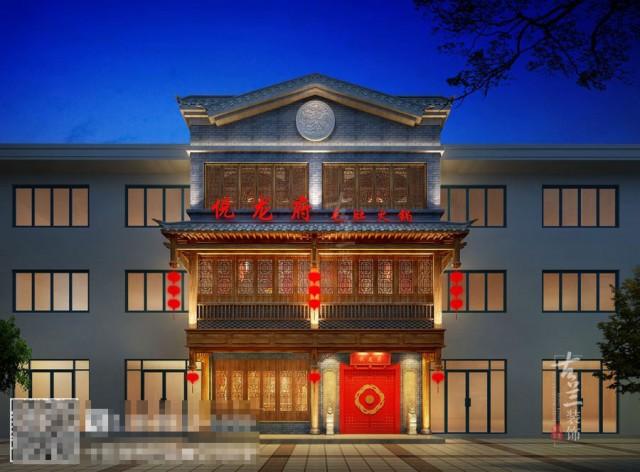 酒泉传统中式火锅店设计装修公司-火锅店装修效果图