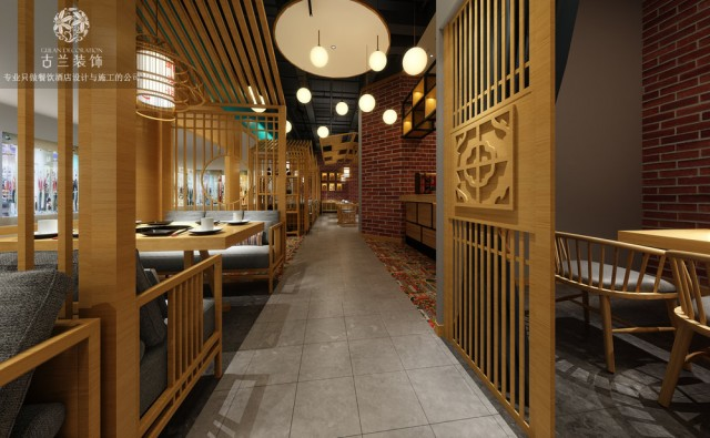 5、在餐厅的颜色选择中,一般用暖色,在心理上,可以增加胃口。但这不是一个归纳,或许应该根据餐厅的主题风格来抉择,包含灯光的选择。
