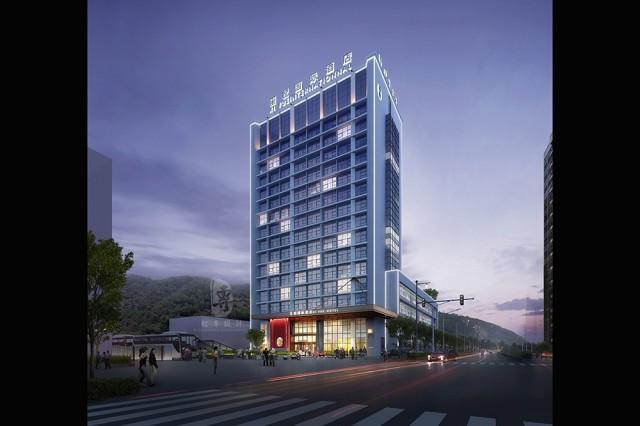 衡阳星级酒店设计公司-红专设计 | 遵义玺.悦国际酒店