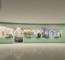 成都中餐厅设计装修-成都最味煲式干锅(银石广场店)设计