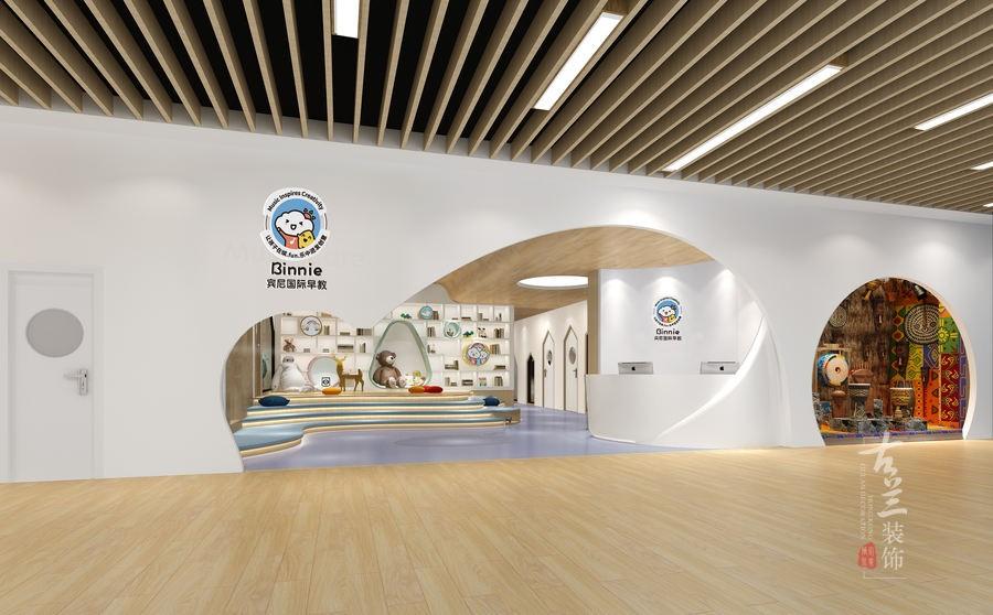 早教中心设计装修 教育培训中心装修设计-成都设计