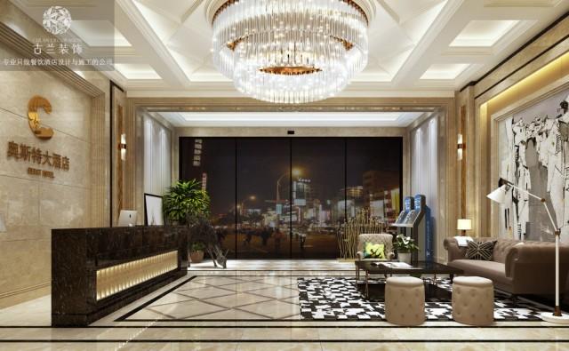 绵阳奥斯特大酒店宴会厅设计-绵阳餐厅设计公司