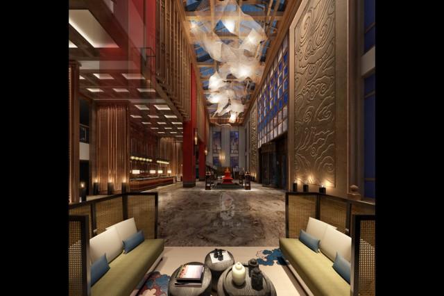 呼和浩特专业酒店设计公司|九黄湾国际温泉度假酒店