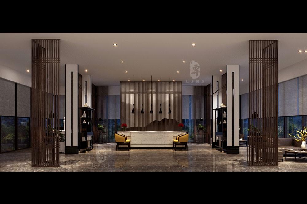 三亚度假酒店设计公司-   昆明航城国际花园酒店三亚度假酒店设计公司-红专设计   昆明航城国际花园酒店