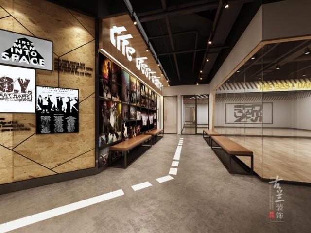鹏瑞利广场街舞舞蹈室设计-成都设计