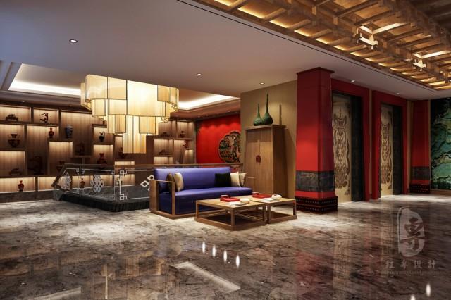 普洱度假酒店设计公司-红专设计 | 九黄湾国际温泉度假酒店