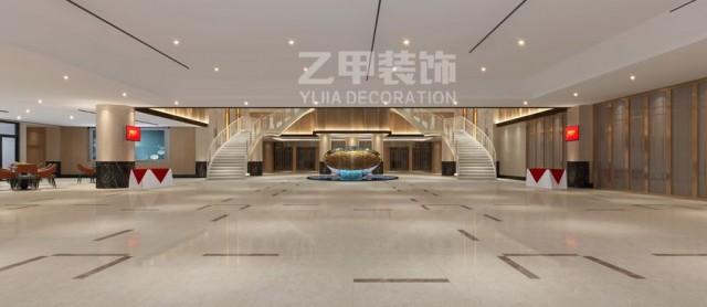 鸿源酒楼_成都大型酒楼宴会厅设计装修