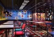 成都中餐厅装修-酒吧工业风干锅餐厅