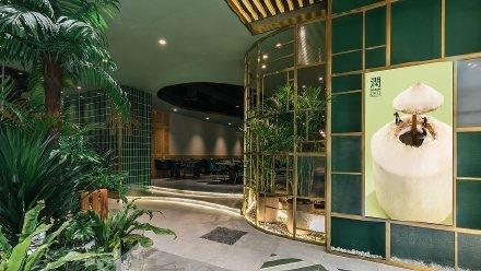 成都森林系餐厅设计 成都餐厅设计公司