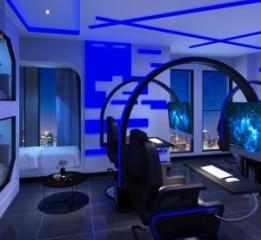 成都主题酒店设计-成都亨创电竞酒店