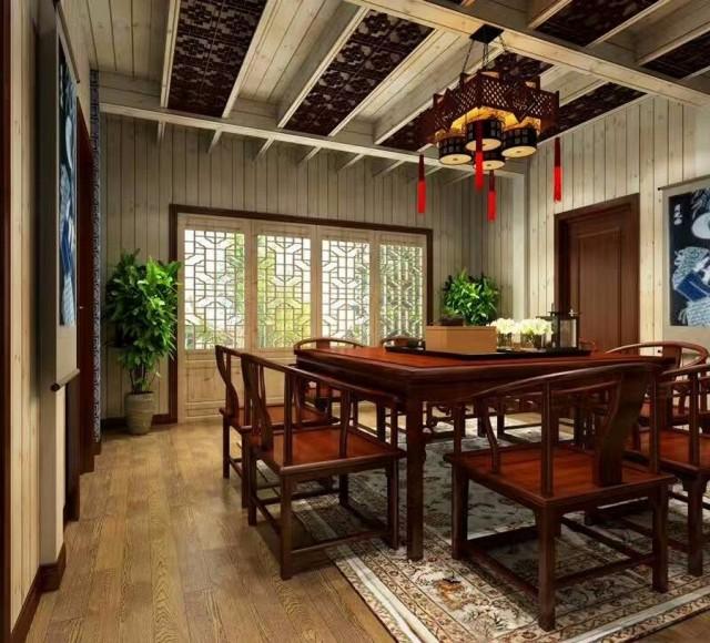 古色古香民宿-成都民宿设计 成都民宿设计公司