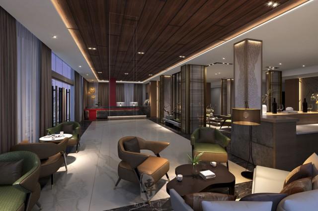 大连酒店设计|达州南洋满山居酒店