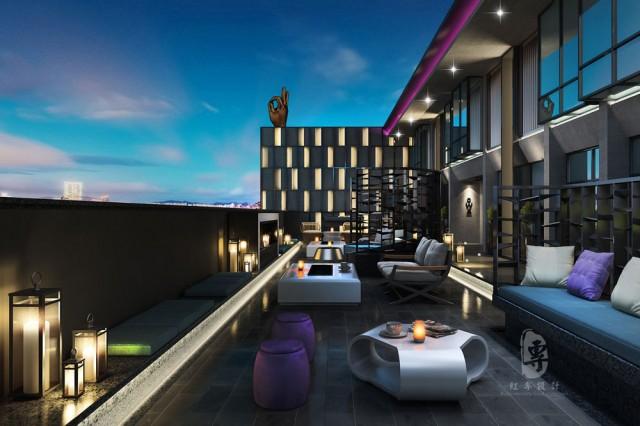 上海专业酒店设计|瑞莱精品酒店