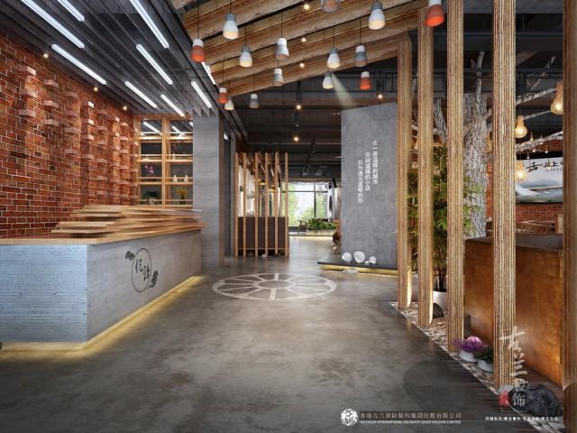 项目名称:悦辣火锅店 风格定位:极简风格 项目面积:400平米