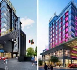 宁波四星级酒店设计|泸州慢生活酒店