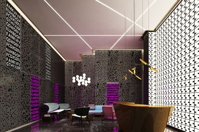 宁波四星级酒店设计 动感生活精品酒店