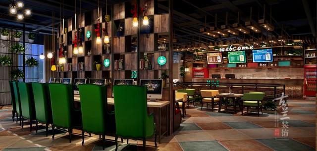 成都网咖设计 成都网吧设计公司
