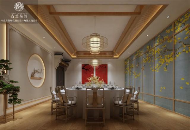 成都陈府菜餐厅(金河路店)-成都中餐厅设计|成都餐厅设计公司