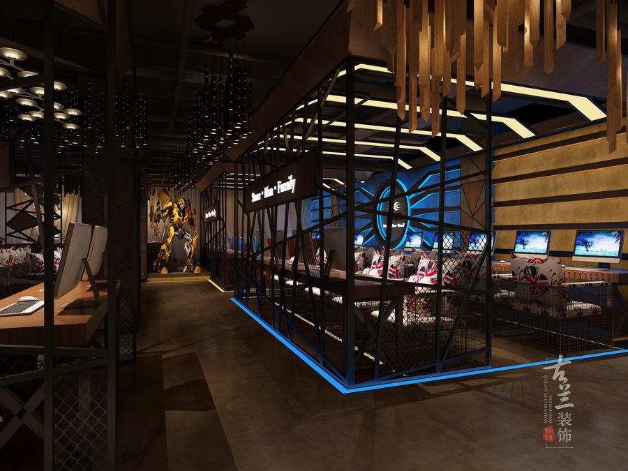 石人公园网咖-成都专业网咖设计|成都网咖设计公司