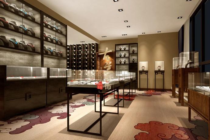 成都珠宝店沙龙设计 成都翡翠岛设计公司