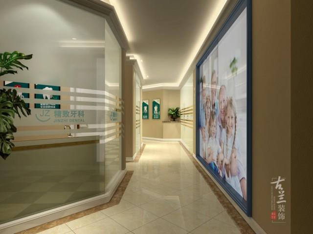 成都口腔医院设计 成都口腔诊所设计公司-精致口腔医院