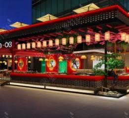 成都餐厅设计公司——兰桂坊MOK餐吧