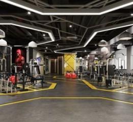 成都健身房设计公司——飞利文健身房