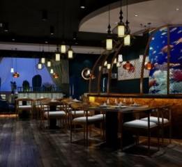 成都华阳海鲜餐厅设计|海鲜餐厅装修