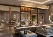成都专业茶楼设计——墨香居茶楼