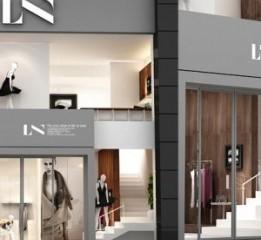 成都服装店设计——LN服装店