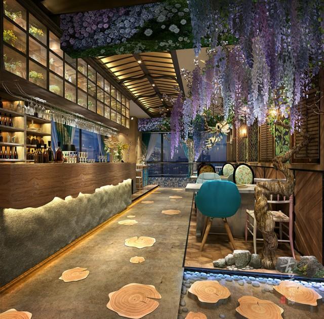 成都海鲜餐吧设计|郫县海鲜餐吧设计公司-阿廖家泰式海鲜餐吧