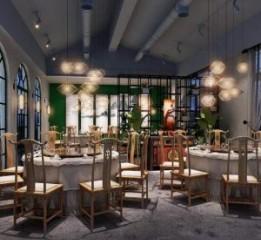 成都花园餐厅装修——成都餐厅装修公