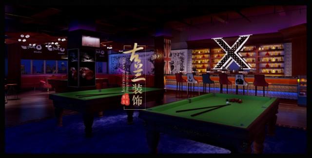 成都酒吧俱乐部设计|成都台球酒吧俱乐部设计公司