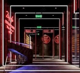 成都酒吧装修公司——24%museum酒吧