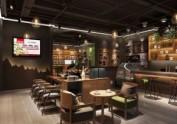 成都咖啡厅装修公司——环太苦荞咖啡
