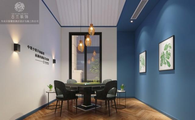 广元茶楼设计|成都现代风格茶楼设计公司