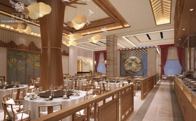 成都中餐厅设计|温江印象李庄餐厅设计